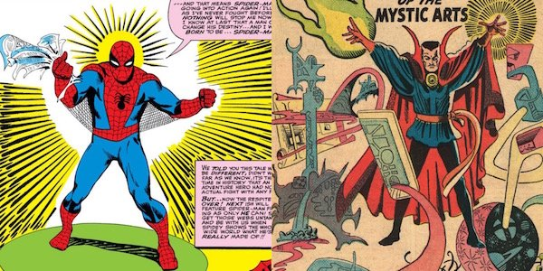 Spider-Man Doctor Strange Steve Ditko illustrations