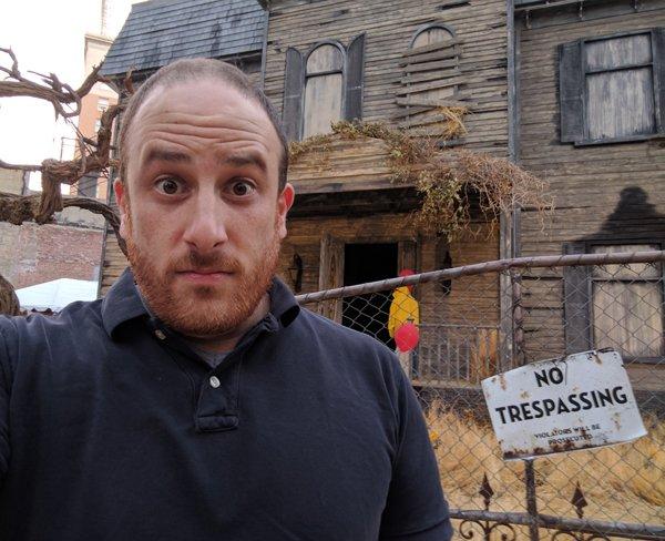 Eric Eisenberg The IT Experience Neibolt House Hollywood