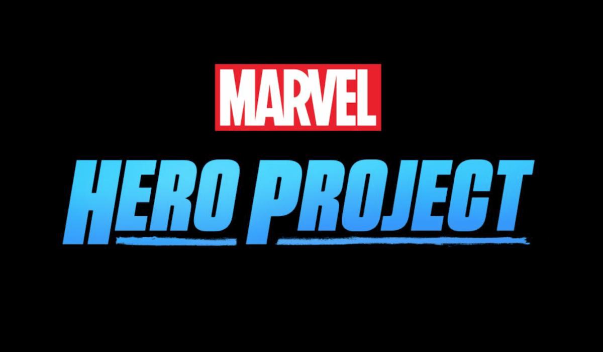 logotipo do projeto herói da maravilha disney +