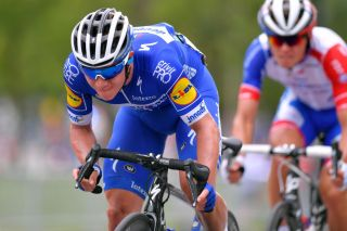 Deceuninck-QuickStep's Remco Evenepoel at the 2019 GP Cycliste de Montréal