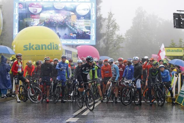581925cac Riders react on social media to Tour of Poland stage cancellation due to  extreme weather