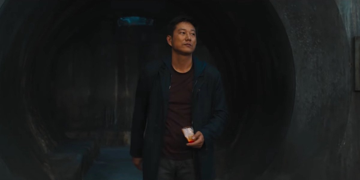 Sung Kang as Han Lue in Fast and Furious 9