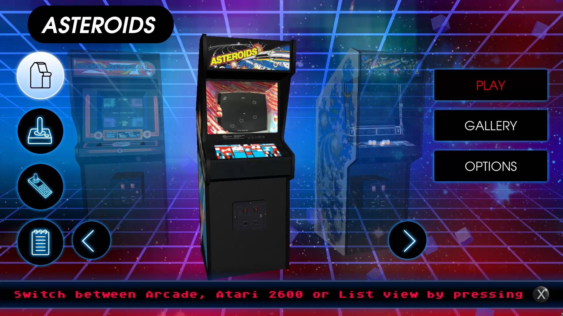 Atari VCS Vault - Asteroids