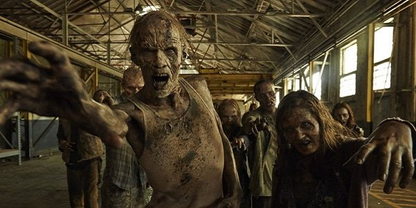 Zombies in The Walking Dead.