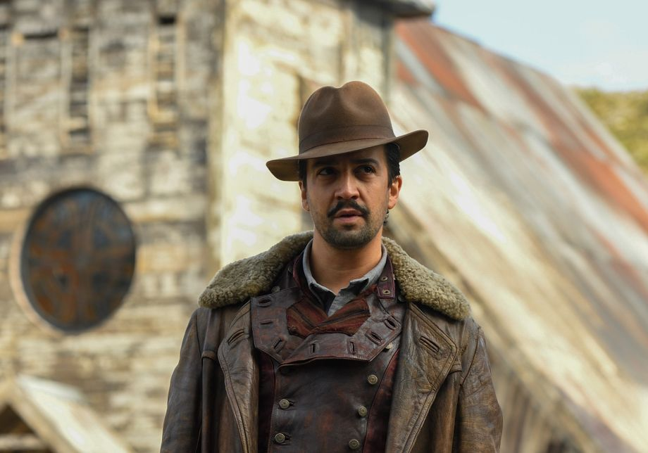 Lin-Manuel Miranda in His Dark Materials
