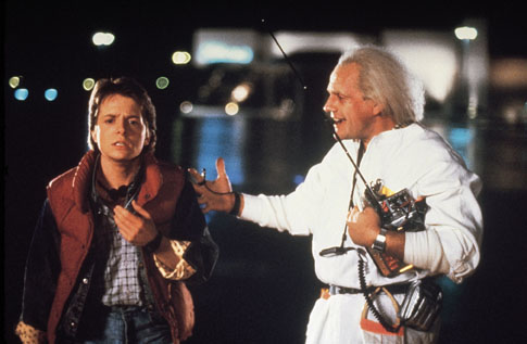 Back to the Future, Michael J Fox, Christopher Lloyd