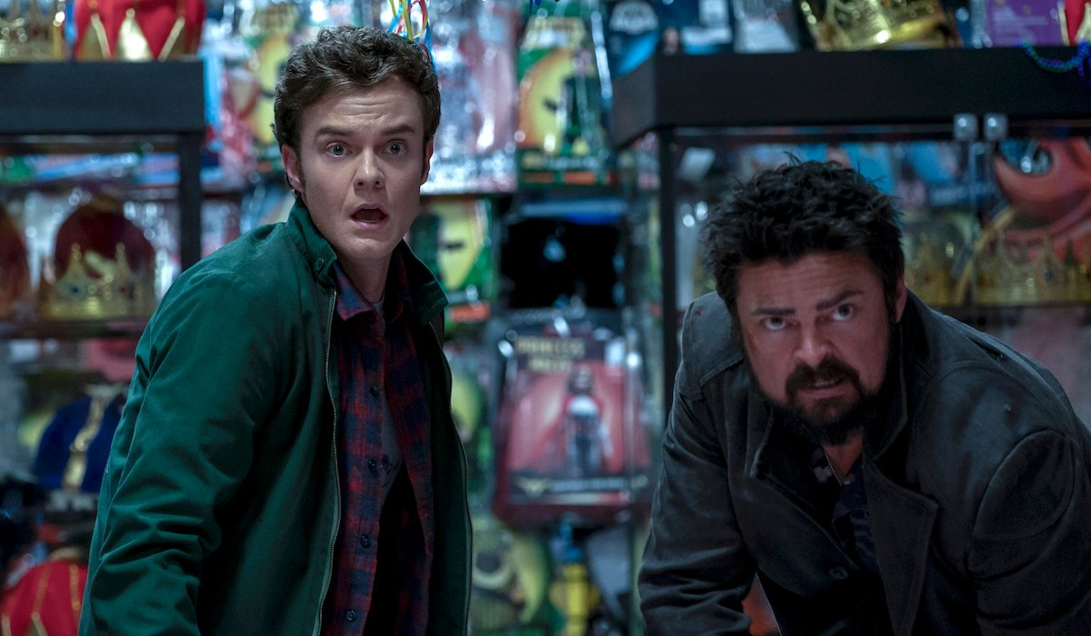 the boys season 2 hughie and butcher at a store