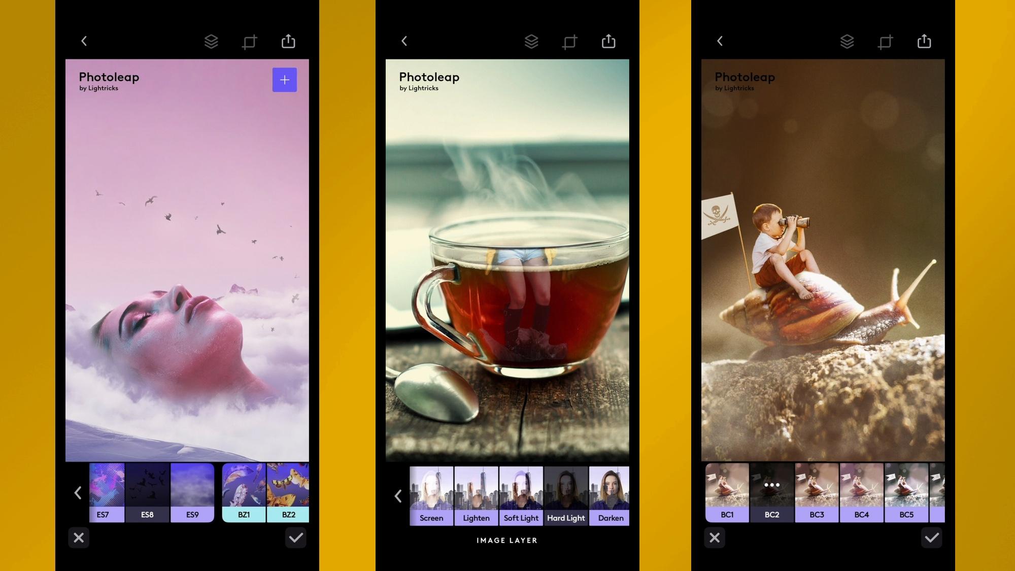 best iPhone apps: photoleap