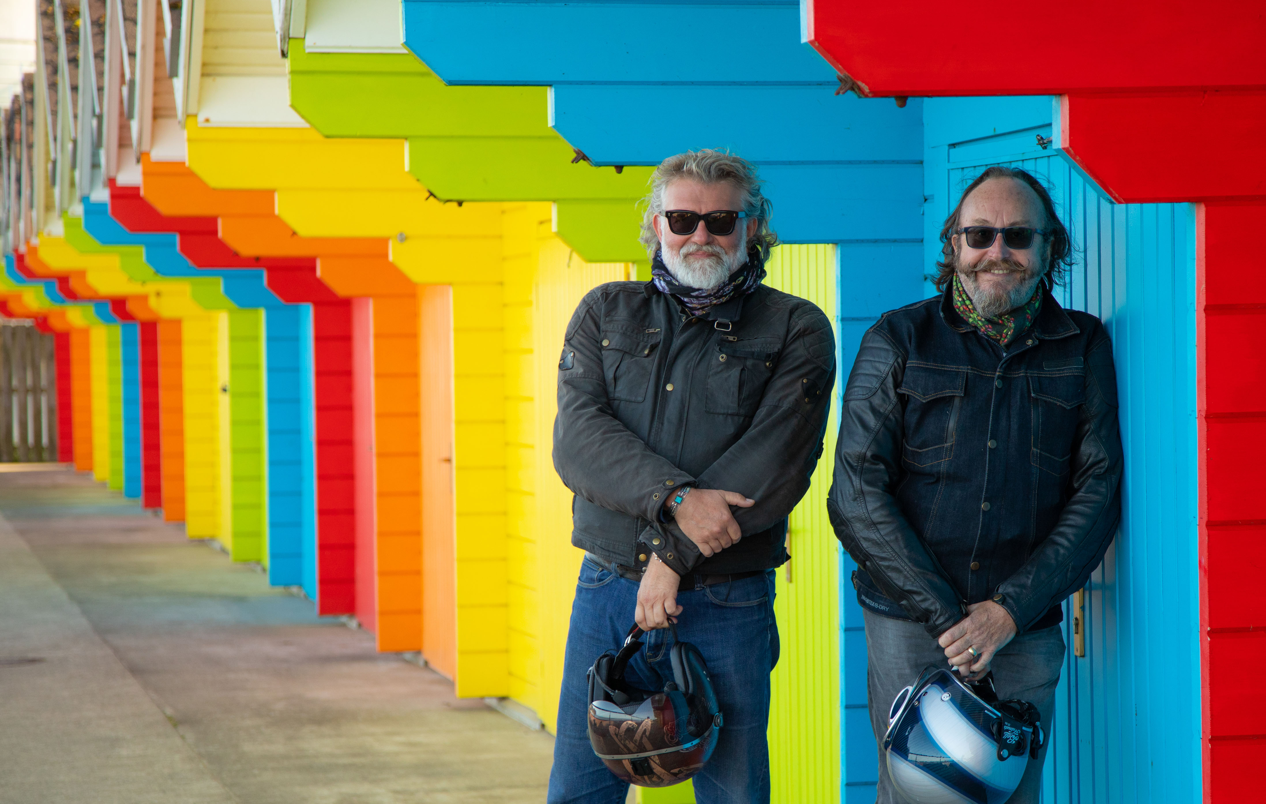 The Hairy Bikers found some beautiful spots on their travels.