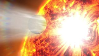 'Hot Jupiter' Exoplanet