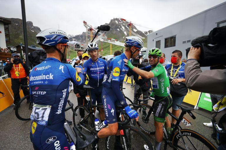 Mark Cavendish on stage nine of the 2021 Tour de France