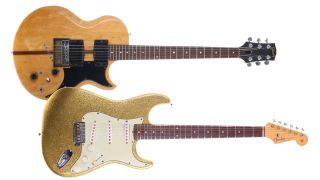 Bob Dylan Stratocaster and Rory Gallagher L6-S