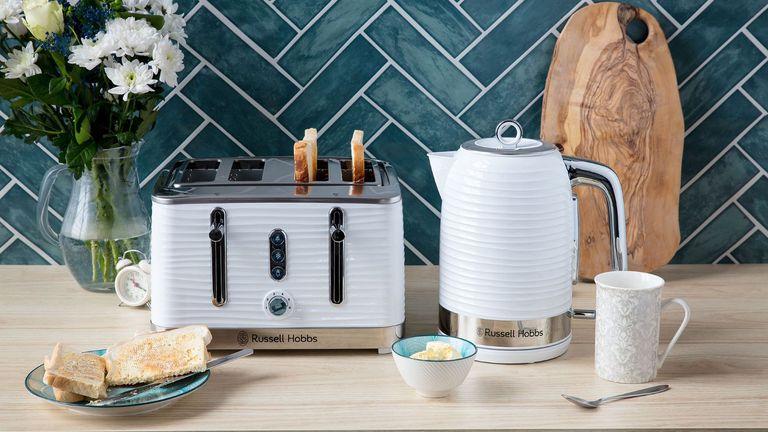 Best kettle: RUSSELL HOBBS INSPIRE KETTLE