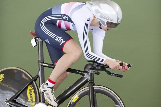 Joanna Rowsell individual pursuit world champion 2014