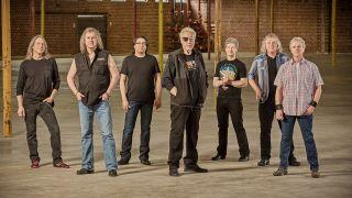 Kansas band group shot