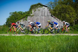 Farms and barns passed at Joe Martin Stage Race stage 3