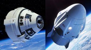 Commercial crew capsules