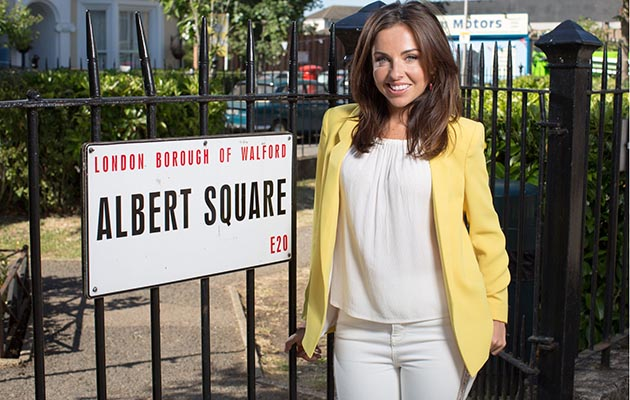 EastEnders star Louisa Lytton who plays Ruby Allen