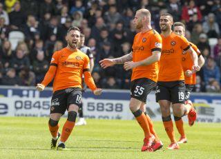 St Mirren v Dundee Utd – Ladbrokes Premiership Play-off – Final – Second Leg – Simple Digital Arena