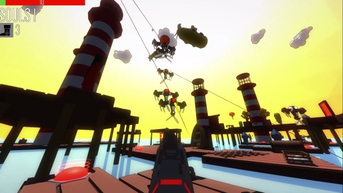Roguelike FPS Polygod leaves Early Access tomorrow