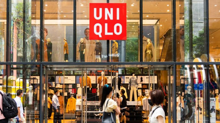Uniqlo cyber monday shop front