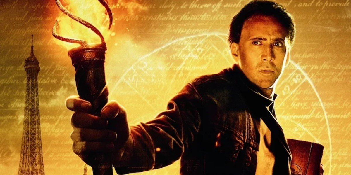 Nic Cage - National Treasure: Book of Secrets Poster