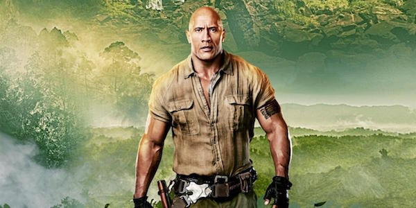 Dwayne Johnson in Jumanji: Welcome to the Jungle