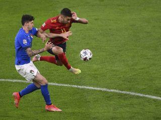 Italy Spain Nations League Soccer