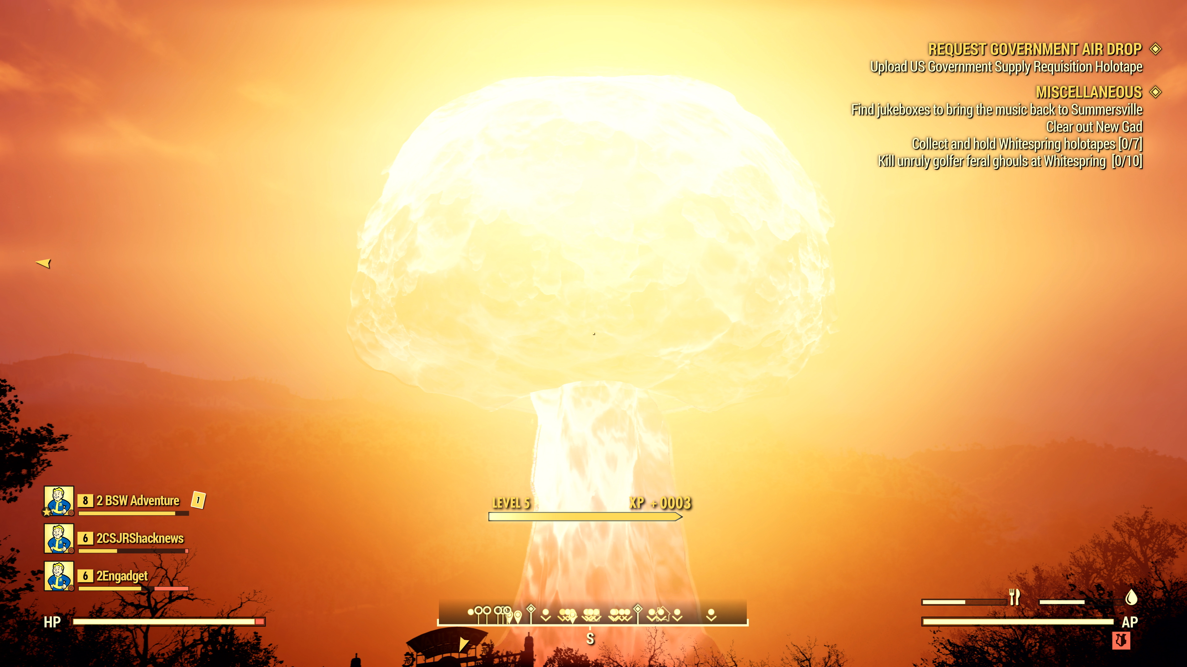 fallout 76 nuke codes reset