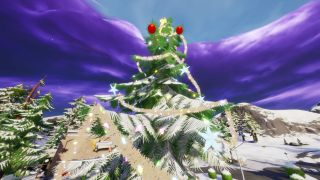 fortnite holiday trees locations