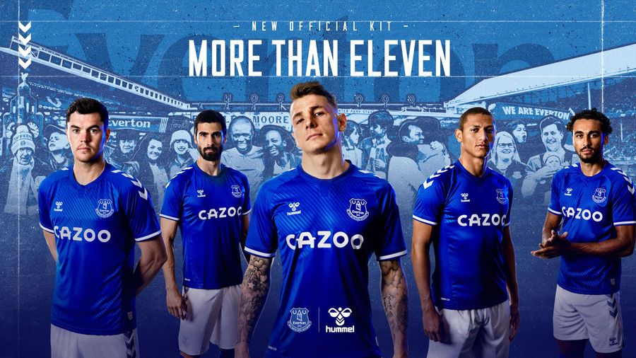 Instant Classic Everton S New 2020 21 Home Kit Becomes Their Fastest Ever Selling Shirt Fourfourtwo