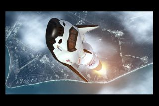 Dream Chaser Launch Illustration