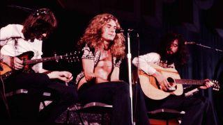 Led Zeppelin in 1971