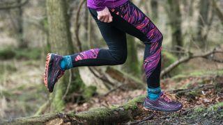 Bridgedale lifestyle image of trail running socks