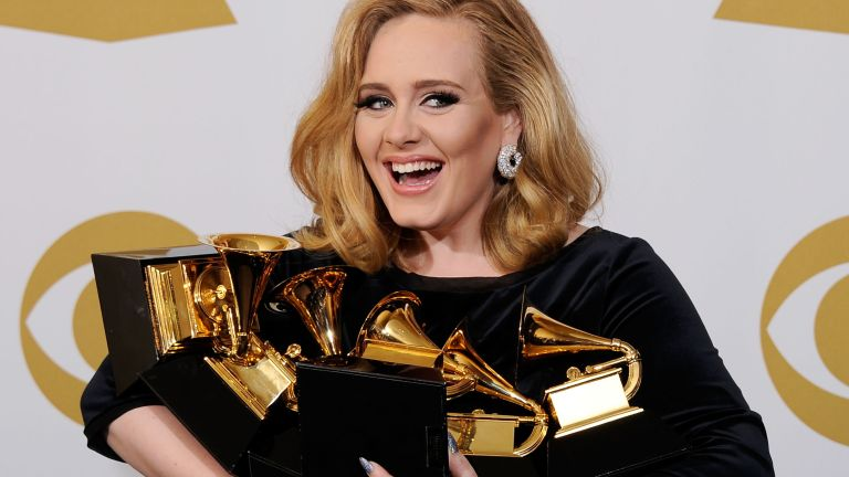 New Adele album - Adele at the Grammy Awards in 2012