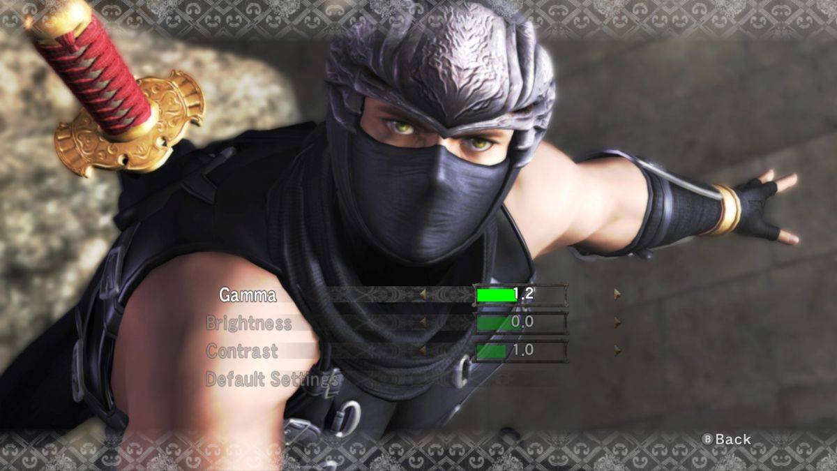 A month after launch, Ninja Gaiden finally has in-game graphics options