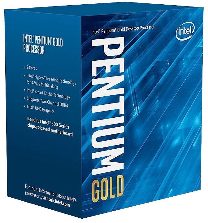 Intel Pentium Gold G5600 Desktop Processor 2 Core 3.9GHz LGA1151 300 Series 5600