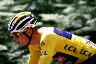Mathieu van der Poel won a stage and wore the yellow jersey before leaving the Tour de France after eight stages