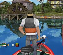 Sega bass fishing for the wii might be cool cinemablend for Cool fishing games