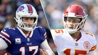 Josh Allen and Patrick Mahomes will face off in the Bills vs Chiefs live stream