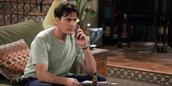 Charlie Harper Charlie Sheen Two And A Half Men CBS
