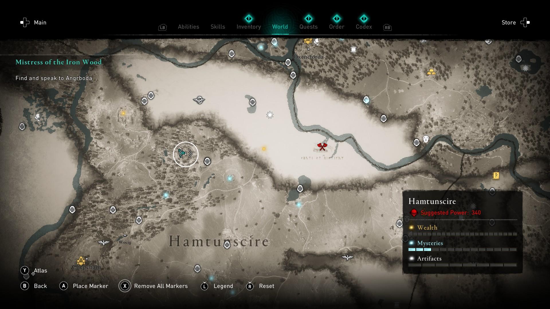 AC Valhalla excalibur guide