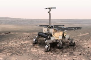 ExoMars Rover Concept Image