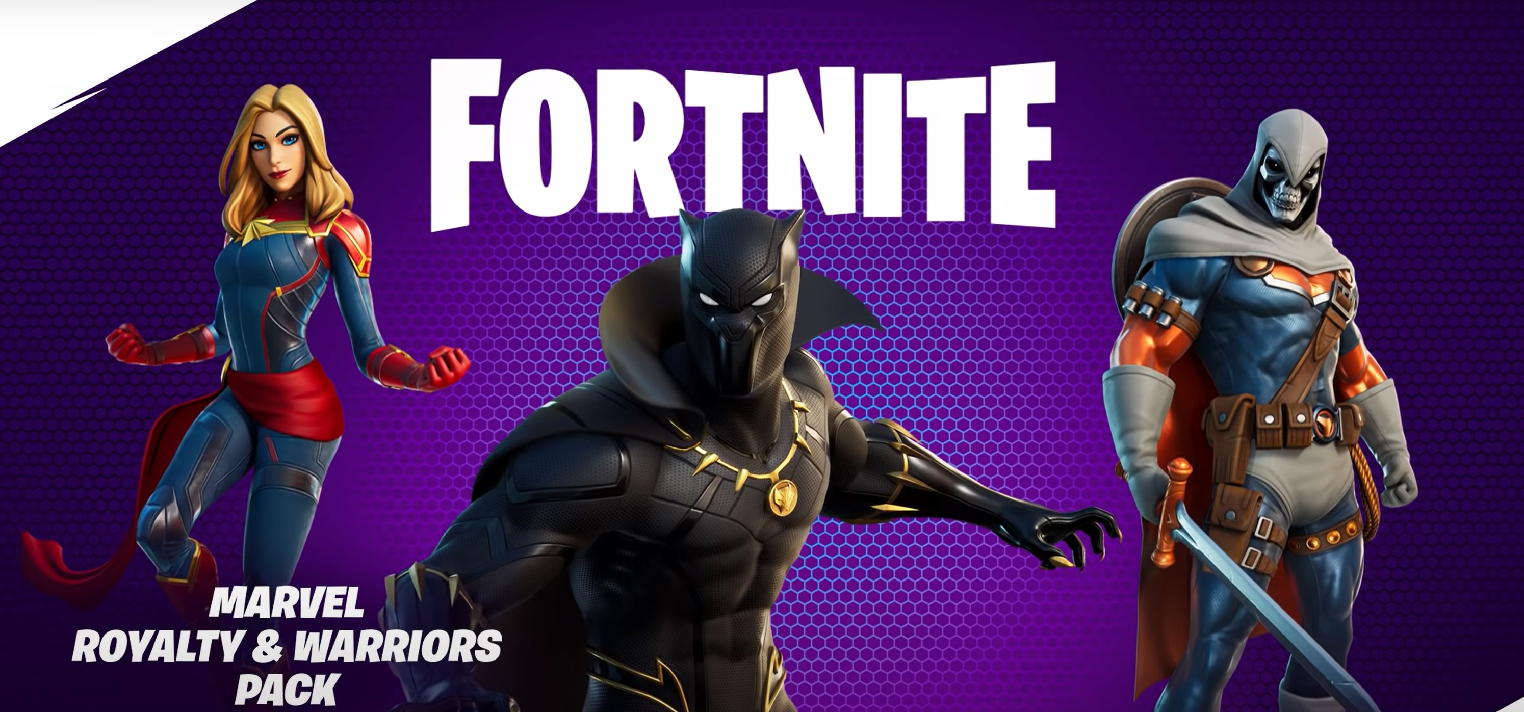 fortnite item shop black panther royalty and warriors pack