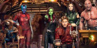 Rocket, Nebula, Gamora, Starlord, Mantis and Drax from Guardians of the Galaxy
