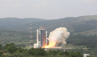 Long March 4B launch