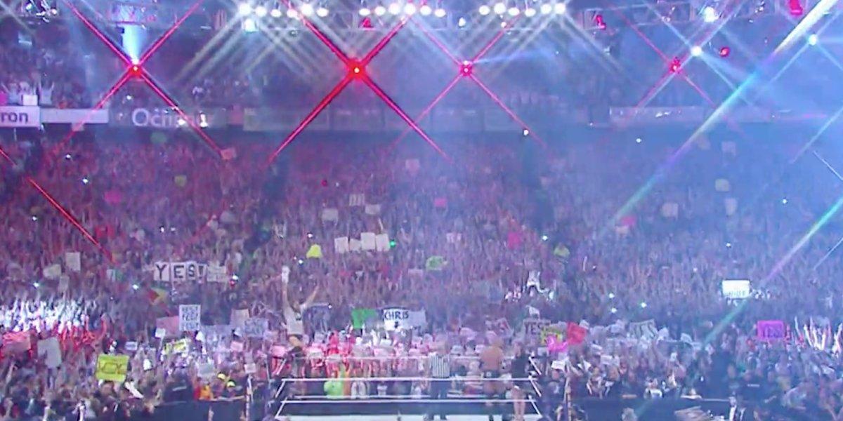 Daniel Bryan's entrance at WrestleMania 30