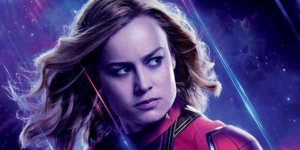 Captain Marvel's Endgame poster