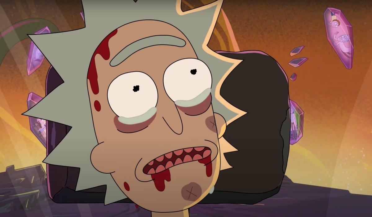 Rick near death Rick and Morty
