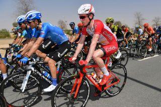 Jesper Hansen (Cofidis) at the 2020 UAE Tour